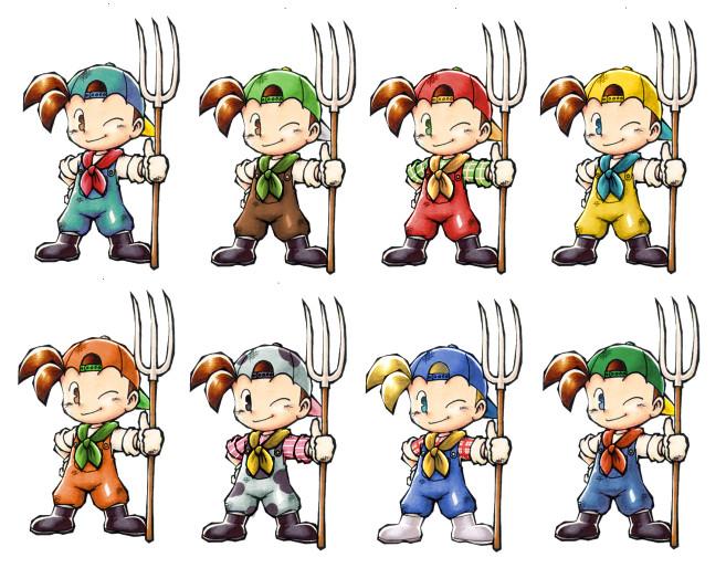 Harvest Moon Protag over Villager [Super Smash Bros  (Wii U)] [Works