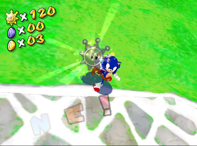 Super Sonic Sunshine (Download) [Super Mario Sunshine] [Works In