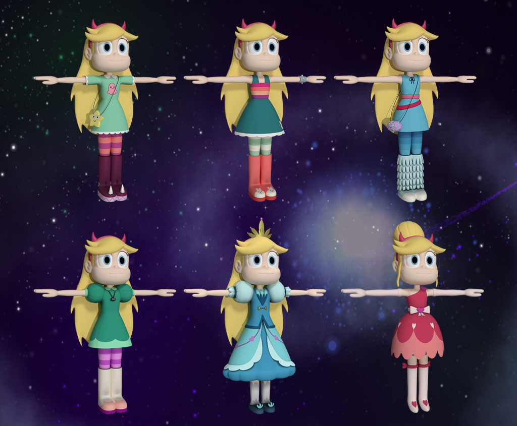 Star Butterfly over Zelda