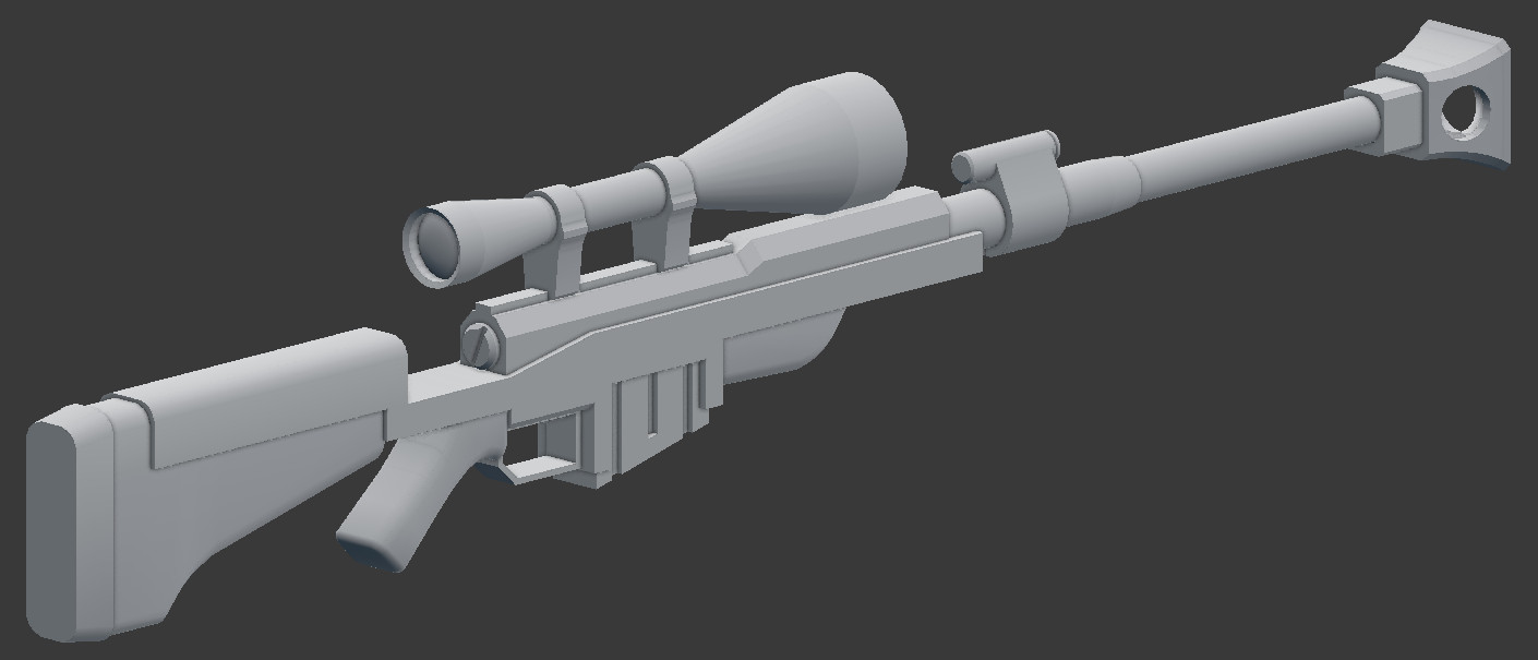 Anti Materiel Rifle anti materiel rifle (tf2) [team fortress 2] [works in progress]