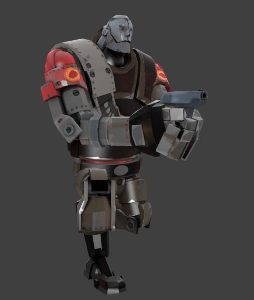 Robot Heavy Sentry [Team Fortress 2] [Works In Progress]