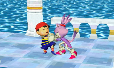 Finished Blaze the Cat with Ninten