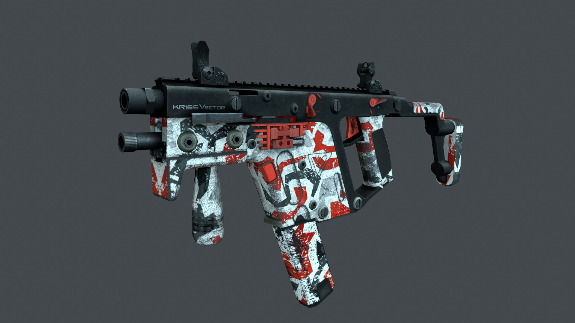 Retexturing Kriss Vector From Contract Wars Counter Strike