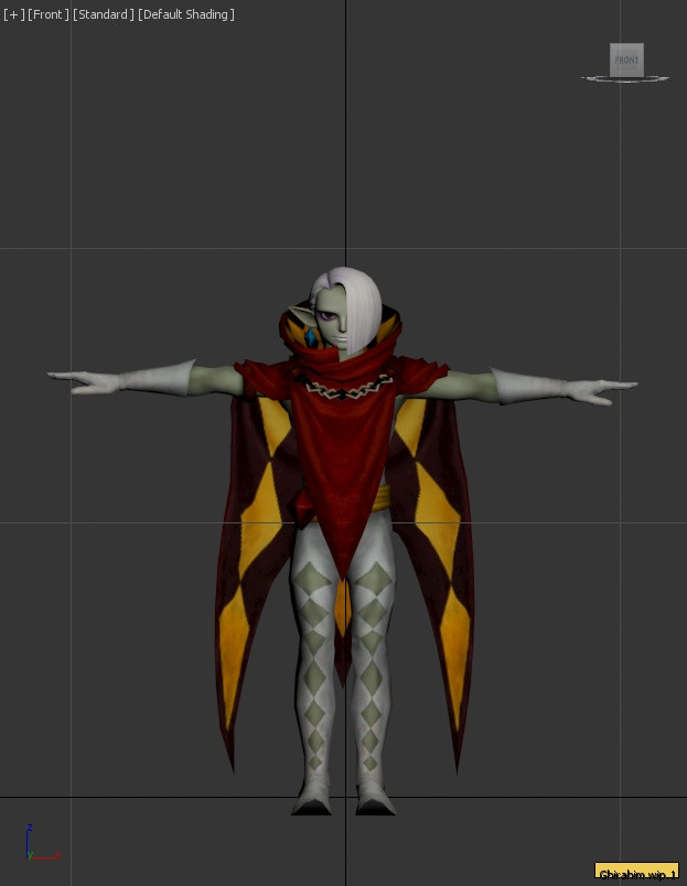 Ghirahim model import wip (hyrule warriors) [Super Smash Bros  (Wii