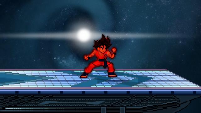 Goku Fukkastu V2 [Super Smash Flash 2] [Works In Progress]