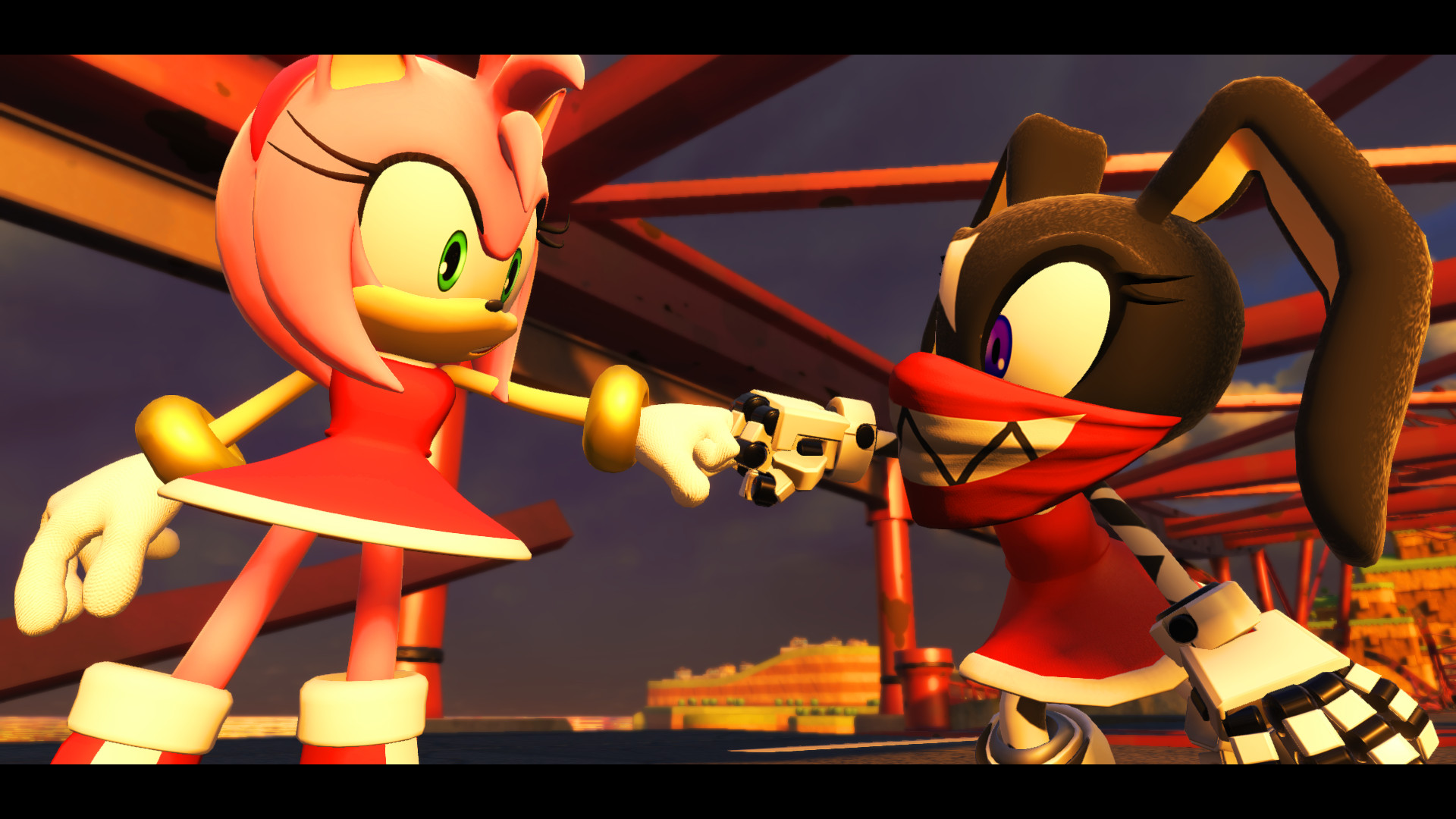 Amy Off Of Sonic amy mod [sonic forces] [works in progress]