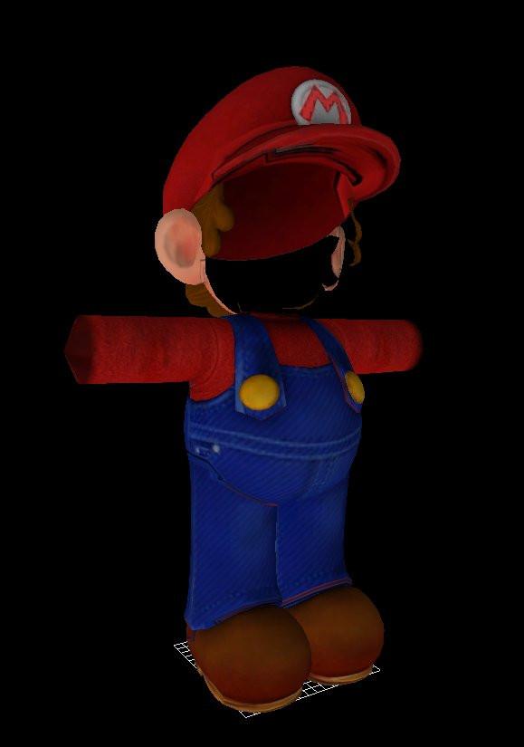 Super Mario Odyssey Model [Super Mario 3D World] [Works In Progress]