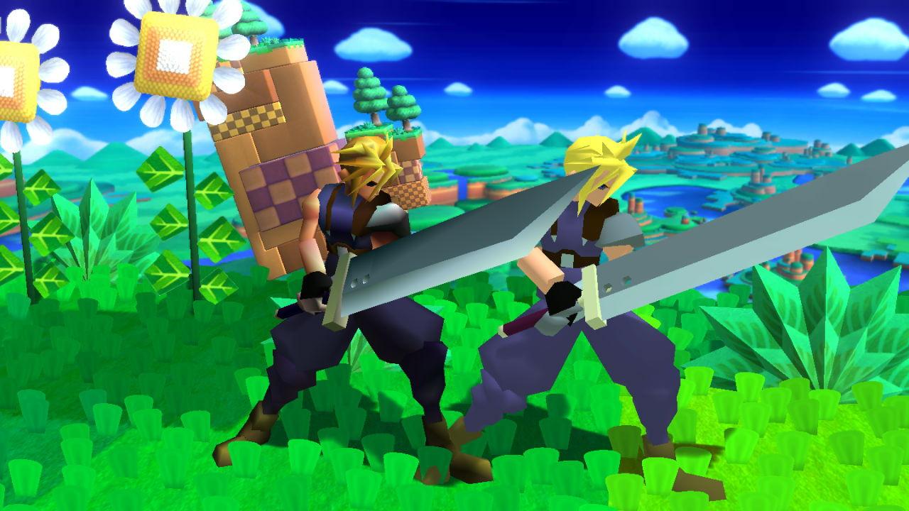 Final Fantasy VII Battle Models (Complete) [Super Smash Bros