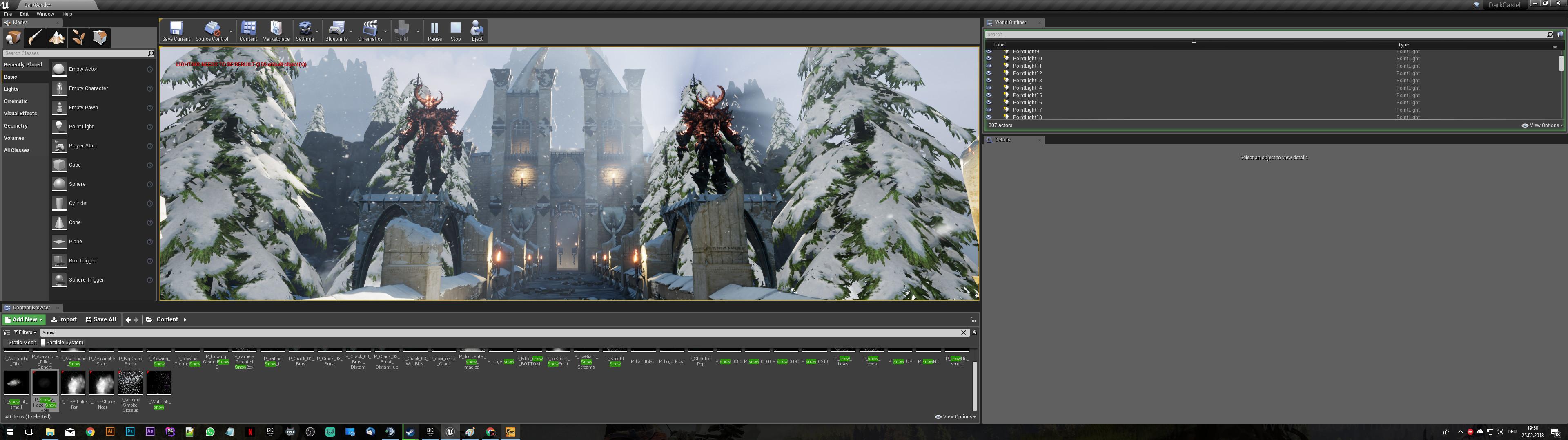 Dark Castle [Unreal Engine 4] [Works In Progress]