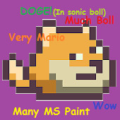 Doge in Sonic Boll