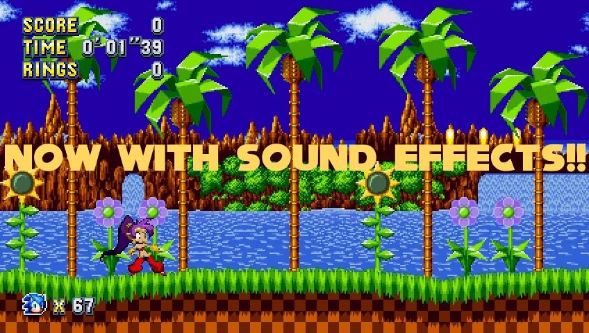 Shantae: Half-Genie Mania [Voices and SFX Pack] [Sonic Mania