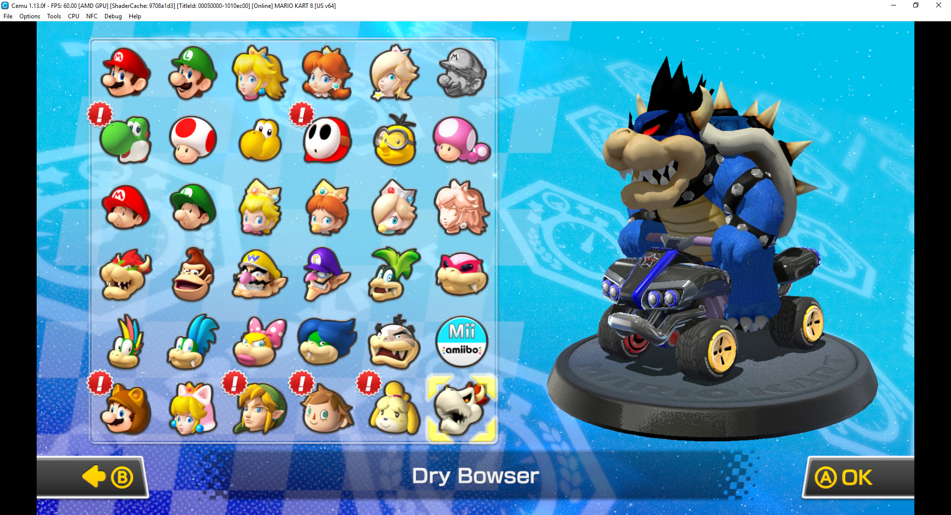 Dark Bowser Model Edit Complete Mario Kart 8 Works In