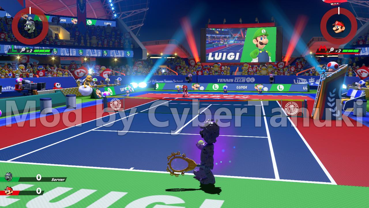 Playable Npc Mod Wip Mario Tennis Aces Works In Progress