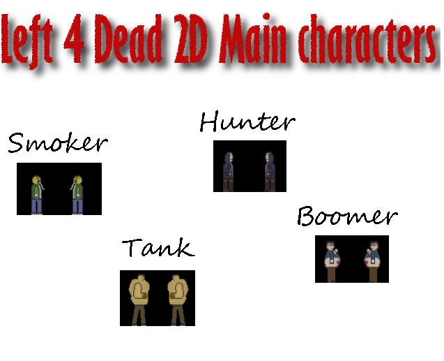L4D2D Characters