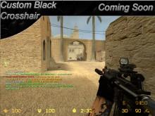 BLack Crosshair  Sprite preview