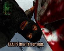 Ekah's terror skin  Spray preview