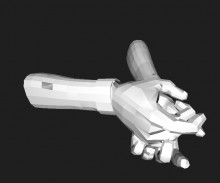 Hands Rig Model preview