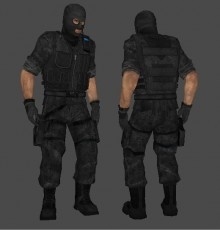 Arkan Black Ops Phoenix Textur preview
