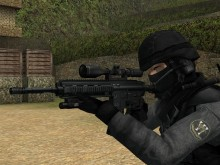 Hk416 sniper rifle goodness Skin preview