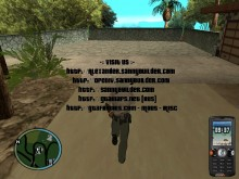 GTA IV HUD w/ better phone Map preview