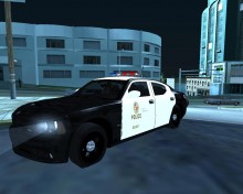 LAPD Dodge Charger; v2 LAPD Cr Map preview