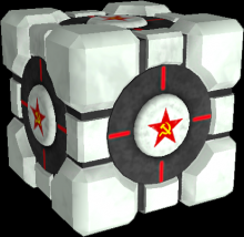 Weighted Comunist Cube preview