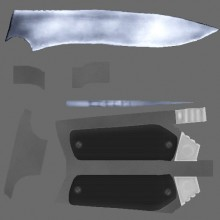 CS 1.6 Knife Retexture WiP preview