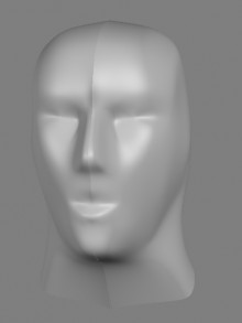 head modelling preview