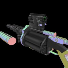 grenade launcher thing WiP preview