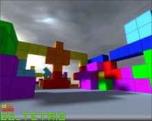 First tetris screens! Map preview