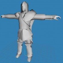 Ezio Auditore Look a Like CS 1 Model preview