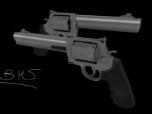 S&W 501 start Skin preview