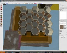 HoneyCombe Maze WiP preview