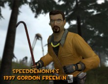 L33T Gordon Freeman preview
