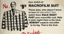 Macrofilm suit Skin preview