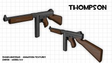 Thompson textured Skin preview