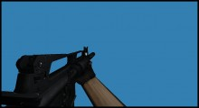 M16 Black style Skin preview
