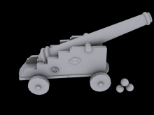 Cannon for Mod Skin preview