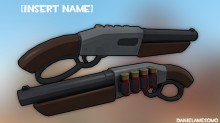 Lever Rifle Ingame preview