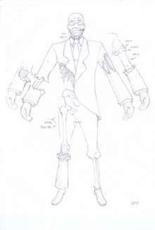 spy concept art Skin preview