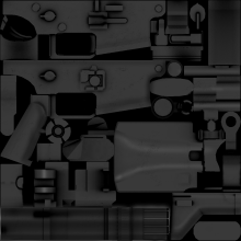 SCAR Mk.16 Texture and anims Skin preview