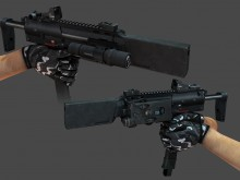 Tactikewl MP7 Skin preview