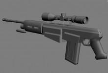 Futuristick Ak47 With Rifle Sc preview
