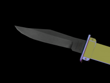 Knife Skin WiP preview
