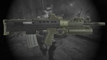 Killzone 2 ISA Rifle Skin preview