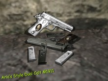 Aria's Style Dual Colt M1911 WiP preview