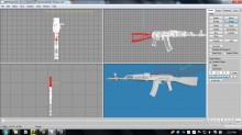 AK-74M revisited Skin preview