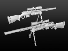 M(onster)24 Tactical Skin preview