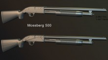 Mossberg 500 WiP preview