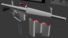 Atchisson Assault Shotgun (5) Model preview